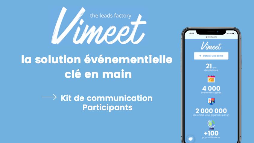Plateforme Vimeet - RDV Aneist du 25 nov. 2021